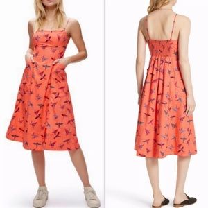 Free People Sunshine of Your Love Printed Dress 6